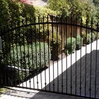 Wrought Iron Driveway gate, San Jose